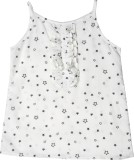 IDK Top For Rayon Top (White, Pack of 1)