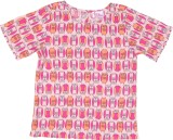 Teeny Tantrums Top For Girls Casual Visc...
