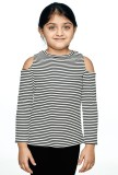 Ventra Top For Girl's Casual Polyester V...