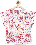 Yk Top For Girl's Cotton Top (Multicolor...
