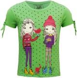 Kothari Top For Girl's Cotton Top (Green...