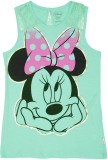 Mickey & Friends Top For Girl's Casual C...