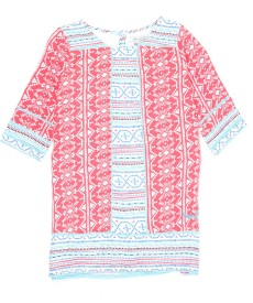 Pepe Jeans Girls Printed Casual Multicolor Shirt