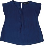 IDK Top For Rayon Top (Blue, Pack of 1)