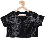Soul Fairy Top For Party Satin Top (Blac...