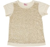 Teeny Tantrums Top For Party Mesh, Cotto...