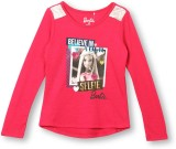 Barbie Top For Girls Casual Georgette To...