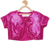 Soul Fairy Top For Party Satin Top (Maro...