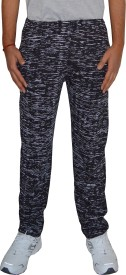 Shaun Track Pant For Boys(Black Pack of 1)