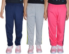 69GAL Track Pant For Girls(Multicolor Pack of 3)