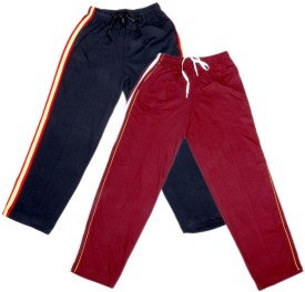 IndiWeaves Track Pant For Boys & Girls(White Pack of 2)