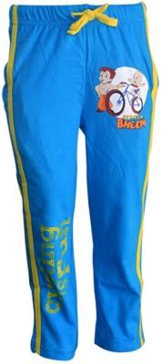 Chhota Bheem Track Pant For Boys & Girls(Blue Pack of 1)
