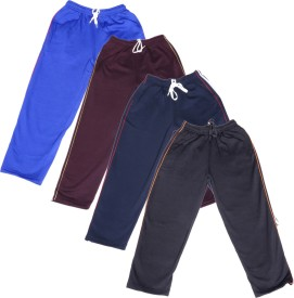 IndiWeaves Track Pant For Boys(Multicolor Pack of 4)