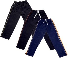 IndiWeaves Track Pant For Boys & Girls(Yellow Pack of 3)