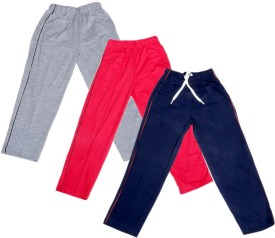 IndiStar Track Pant For Boys & Girls(Red Pack of 3)