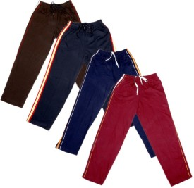 IndiWeaves Track Pant For Boys & Girls(Blue Pack of 4)
