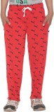 Free Runner Track Pant For Boys (Red Pac...