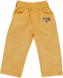 Ice Boys Track Pant For Girls (Yellow Pa...