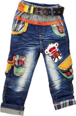 Noddy Track Pant For Boys(Multicolor Pack of 1)