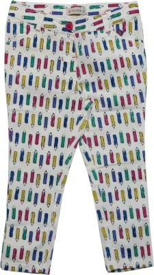 FS Mini Klub Track Pant For Girls(Multicolor Pack of 1)