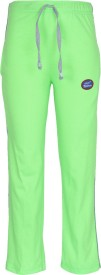 Vimal Track Pant For Girls(Green Pack of 1)