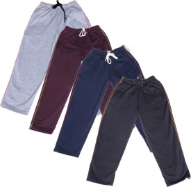 IndiStar Track Pant For Boys(Multicolor Pack of 4)