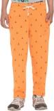 Free Runner Track Pant For Boys (Orange ...
