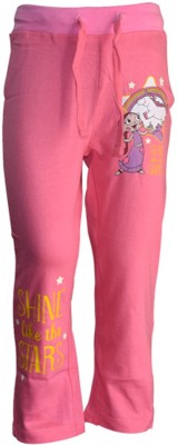 Chhota Bheem Track Pant For Boys & Girls(Pink Pack of 1)