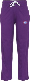 Vimal Track Pant For Girls(Purple Pack of 1)
