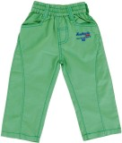Ice Boys Track Pant For Girls (Green Pac...