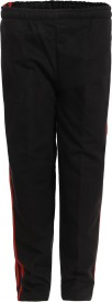 HAIG-DOT Track Pant For Girls(Black Pack of 1)