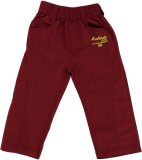 Ice Boys Track Pant For Girls (Maroon Pa...