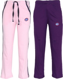 Vimal Track Pant For Girls(Multicolor Pack of 2)