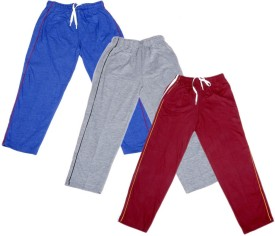 IndiStar Track Pant For Boys & Girls(Grey Pack of 3)