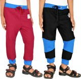 Gkidz Track Pant For Boys (Maroon Pack o...