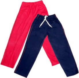 IndiStar Track Pant For Boys & Girls(Blue Pack of 2)