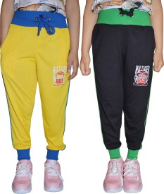 69GAL Track Pant For Girls(Multicolor Pack of 2)