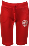 Jazzup Track Pant For Girls (Red Pack of...