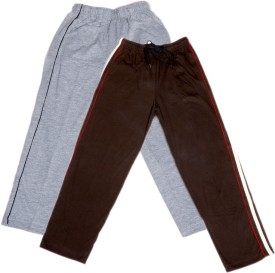 IndiStar Track Pant For Boys & Girls(Multicolor Pack of 2)