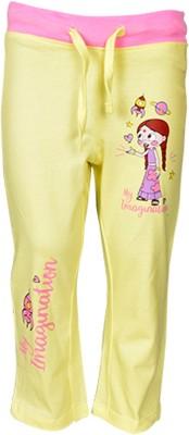 Chhota Bheem Track Pant For Boys & Girls(Yellow Pack of 1)