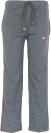 Vimal Track Pant For Boys(Grey Pack of 1)