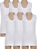 Harsha Vest For Boys Cotton (White, Pack...