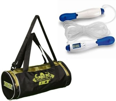 BLT PASSION Duffel Bag With Digital Display Skipping Rope Gym & Fitness Kit