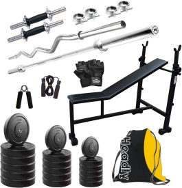 Headly HY - 75 kg Combo 5 Gym & Fitness Kit