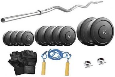 Protoner 14 Kg & 3 Feet Rod Gym & Fitness Kit