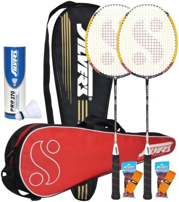 Silver's Reflex Combo 2 with White Nylon Shuttle Badminton Kit