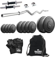 Headly 15 kg Combo 4 Home Gym & Fitness Kit