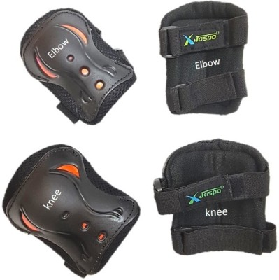 Jaspo max-2 premium safeguards set of knee and elbow Skating, Cycling Kit