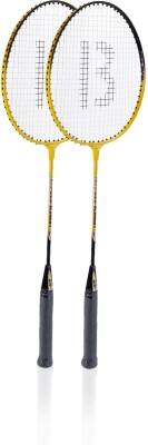BEES Economy Badminton Racquet with 3 Feather Shuttle Cocks