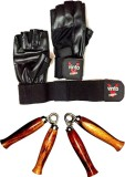 Vinto PRO COMBO 1 PAIR LEATHER GYM GLOVE...